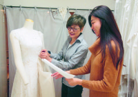 【母娘のカタチ】 母と娘で作る ウェディングドレスのお店