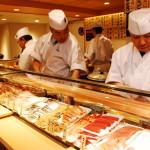 関西初出店!江戸前立喰い寿司「魚がし日本一」中之島にオープン