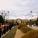 【まちメディア】関西学院大学で卒業式 記念写真に行列も