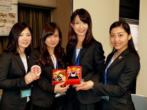 旅が楽しくなる駅弁を企画した神戸松蔭女子学院大学「青谷ゼミ」の学生たち