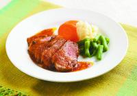 【つながるキッチン】兵庫県西宮市 鴨肉の鳴門オレンジドレッシング焼き