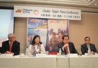 フィリピン航空 大阪=台北=マニラ線を開設 「魅力のサービスで台湾へも」