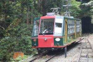 日本一の長さを誇る坂本ケーブル
