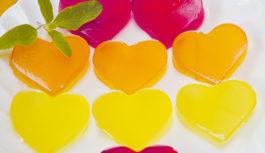 季節のスイーツレシピ フルーツ味の手作りグミ
