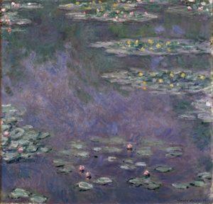 クロード・モネ《睡蓮》 1907年 油彩 90×93cm アサヒビール大山崎山荘美術館蔵