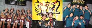 ダンスコンクール「STARZ」小学生の部に出場する「Origin(兵庫)」「BRAVE(大阪)」「North Crown(大阪)」