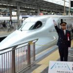 旅さきは長崎 大型観光キャンペーンが開幕 JR新大阪駅で団体臨時列車の出発式