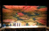 大ホール緞帳「宇宙 自発的対称性の破れ」に歓声 盛大に「豊中市立文化芸術センター」開設記念式典