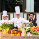 緑豊かで開放的なレストラン「アマデウス」 春野菜が主役のブッフェを開催中 ウェスティンホテル大阪