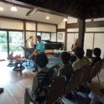 豊中の桜の庄兵衛ギャラリーで 6月18日(日)音と絵が紡ぐコンサート
