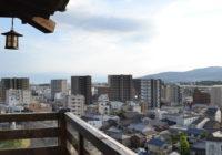 池田市の高台に城…?櫓(やぐら)…?駅から徒歩約15分の絶景スポットに突撃!