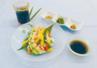 親子で作る季節の簡単料理レシピ「星で飾る  七夕そうめん」