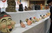 全国から「えびすさま」が約100点 西宮神社で8月末まで「お顔・おすがた展」