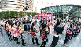 今年も小粋に「梅田ゆかた祭」 22日(土)23日(日) 打ち水や盆踊りなど
