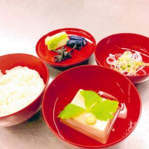 胡麻豆腐の煮物椀