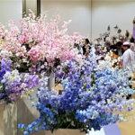 """季節の""""花""""で癒やしの時間  第44回深雪アートフラワー合同展 27日(日)まで"""