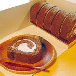 朝宮ほうじ茶ロールケーキ