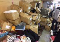 台風21号の影響でバザー用品がピンチに! 豊能障害者労働センターからのSOS
