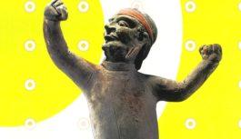 躍動感に目がくぎ付けに! 東洋陶磁美術館で日本初公開「唐代胡人俑―シルクロードを駆けた夢―」開催中