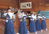 【うちのブカツ自慢】Vol.11 甲南女子中・高等学校  弓道部