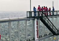 あべのハルカス展望台に「屋外デッキ」 地上300メートルのスリル体験