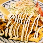 ミナミでチーズたっぷりのお好み焼きとハイボール<br/>【門-MON-】大阪市中央区