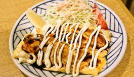 ミナミでチーズたっぷりのお好み焼きとハイボール【門-MON-】大阪市中央区
