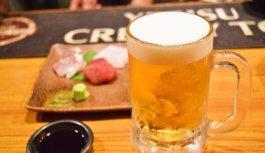 昭和チックなカウンター居酒屋で深夜の土手煮【やみつき鵺】西宮市・甲子園口