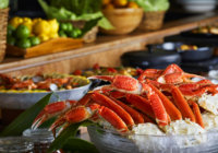 山盛りのズワイガニと、シェフの地中海料理が食べ放題!  ハイアットリージェンシー大阪で「クラブ カーニバル」12月30日(日)まで