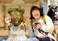 """ゆりやんレトリィバァ 次は恋の""""迷子""""に?大阪・ホワイティうめだ「泉の広場」に登場"""