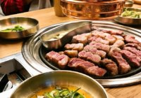 発酵熟成させたイベリコ豚にCASSビール【돝고기506/トッコギ506】韓国・ソウル
