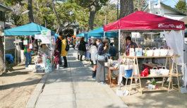 伊丹・猪名野神社で手作りマルシェ 12月17日(月) クラフト、アート作品、古本など約30店 作家との出会い楽しんで