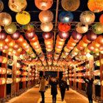 台南から「光の絆」結ぶランタン約1,000個<br />大阪・中之島の夜空を飾る 12月25日(火)まで