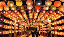 台南から「光の絆」結ぶランタン約1,000個大阪・中之島の夜空を飾る 12月25日(火)まで