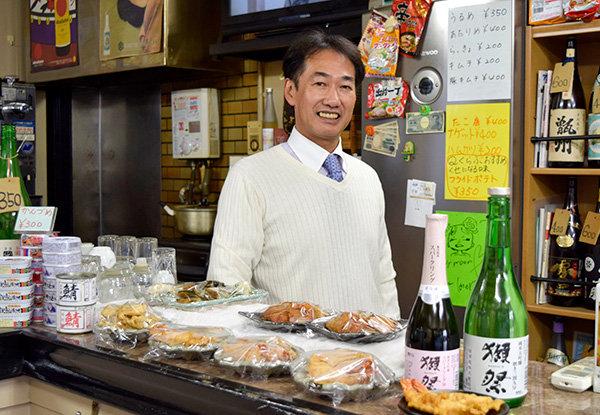 店主の林久博さん