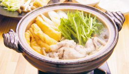 旬の食材を使った簡単料理レシピ「水菜と豚肉のはりはり鍋」