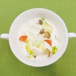 旬の食材を使った簡単料理レシピ<br/>「白菜の豆乳スープ」