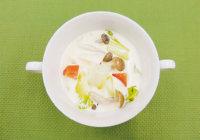 旬の食材を使った簡単料理レシピ「白菜の豆乳スープ」