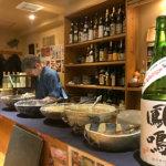 魚貝の炭火焼きに丹波篠山の地酒を<br/>【庵寿】西宮市・西宮北口