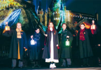 USJにハリー・ポッターのナイトショー石原さとみ 特別な一年の開幕祝う