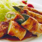旬の食材を使った簡単料理レシピ<br/>「アスパラガスの豚ロース肉巻き」