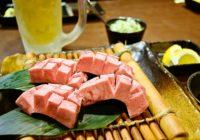 極厚切りタンの炭火焼きに濃いめのハイボール【炭火焼肉Buzz】神戸市・新開地