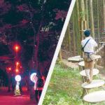 大人も楽しい!夏の森あそび<br/>六甲山【フォレスト アドベンチャー】大阪城公園【サクヤルミナ】
