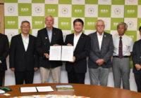 奈良市で来年夏にオランダ流ウォーキング大会歩いて五輪応援と国際交流 開催へ市と覚書を締結