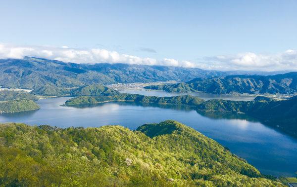 美しい景観の三方五湖