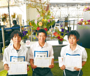 園芸高校「TMT」の3人