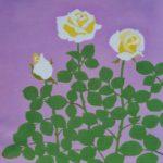 日本画と染色 伊丹のギャラリーで親子二人展<br />1月13日(月・祝)まで ワークショップも