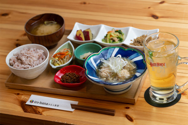 iro-hana晩御飯定食