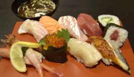 天神橋筋商店街で気軽にカウンター寿司【すし政】大阪・天五