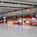 新大阪駅・伊丹空港 外出自粛で利用減<br />コンビニ・土産物店の一部は営業 最低限の利便性は確保